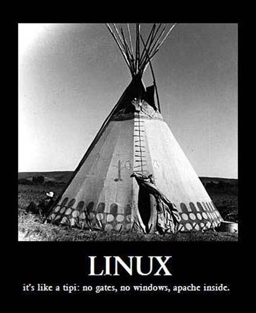linux-is-like-a-tipi